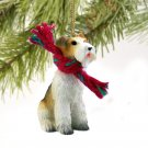 DTX59 Wire Haired Fox Terrier Christmas Ornament