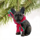 DTX73 French Bulldog Christmas Ornament