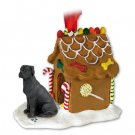 GBHD100A Great Dane, Black, Uncropped Ginger Bread House