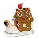 GBHD10B Lhasa Apso, Brown Ginger Bread House