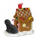 GBHD10D Lhasa Apso, Black Ginger Bread House
