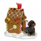 GBHD124 Wire Haired Dachshund Ginger Bread House