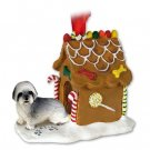 GBHD129A Lhasa Apso, Gray, Sport cut Ginger Bread House