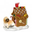 GBHD129B Lhasa Apso, Brown, Sport cut Ginger Bread House