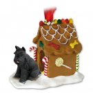 GBHD13A Schnauzer, Black Ginger Bread House