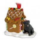 GBHD18B Pug, Black Ginger Bread House