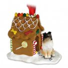 GBHD20B Sheltie, Tricolor Ginger Bread House