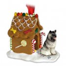 GBHD32 Keeshond Ginger Bread House