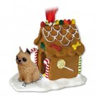 GBHD46A Brussels Griffon, Red Ginger Bread House