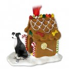 GBHD54A Greyhound, Black & White Ginger Bread House