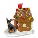 GBHD57A Min Pin, Tan & Black Ginger Bread House