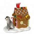 GBHD76 Irish Wolfhound Ginger Bread House