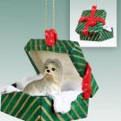 GGBD26C Shih Tzu, Mixed Green Gift Box Ornament