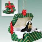 GGBD26D Shih Tzu, Black & White Green Gift Box Ornament