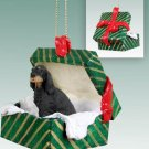 GGBD66 Gordon Setter  Green Gift Box Ornament