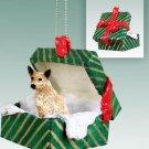 GGBD87A Australian Cattle Dog Red Green Gift Box Ornament