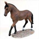 HF29 Bay Horse Walking & trot Figurine
