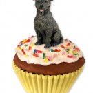 PC48 Staffordshire Bull Terrier, Brindle  Pupcake Trinket Box