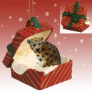 RGBA07 Leopard Red Gift Box Ornament