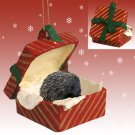 RGBA55 Porcupine Red Gift Box Ornament
