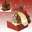 RGBA60 Jaguar Red Gift Box Ornament