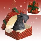 RGBD114 Kerry Blue Terrier Red Gift Box Ornament