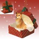 RGBD117 Finnish Spitz Red Gift Box Ornament