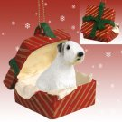 RGBD125 Sealyham Terrier  Red Gift Box Ornament