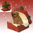 RGBD64 Norfolk Terrier Red Gift Box Ornament
