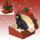 RGBD66 Gordon Setter  Red Gift Box Ornament