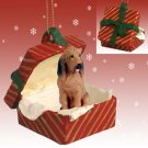 RGBD69 Bloodhound Red Gift Box Ornament