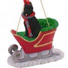 SLD107 Bouvier Sleigh Ride Ornament