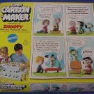 1969 Super Cartoon Maker Peanuts Thingmaker