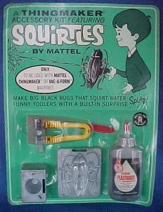 1967 Thingmaker Squirtles Accesory Kit MOC