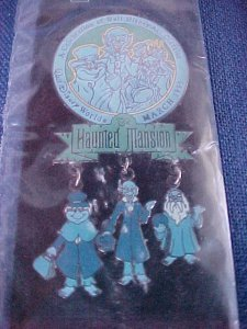 Disney 1999 WDCC Haunted Mansion Dangle Pin