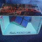 Vintage 1981 Rubik's Pocket Cube MINT MIB NOS Original