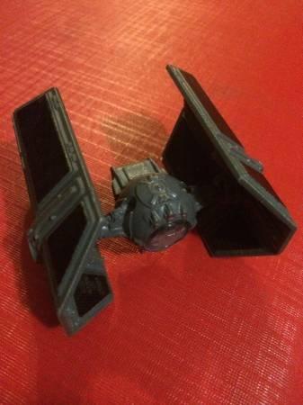 Die cast Star Wars Darth Vader Tie Fighter