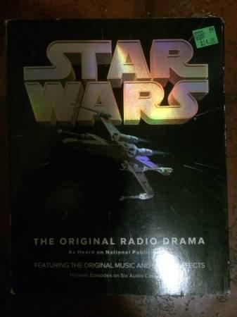 Star Wars Radio DRama Casette Tape Set Complete