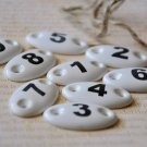 1 to 9 Ceramic Number Tablets (On Sale)