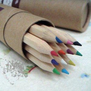 Ecological color pencil case(On Sale)