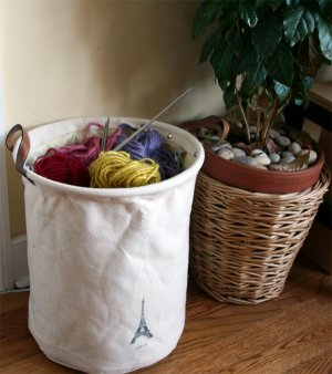 Canvas Fabric Container