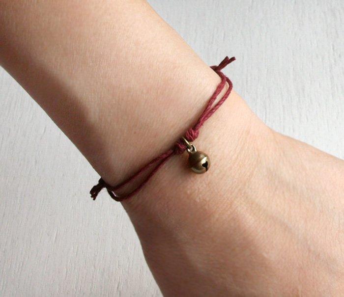 Little Jingle Bell Bracelet (many colors to choose)