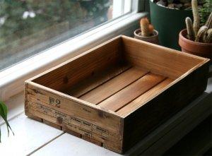 Antique Wood Box (No 2) - ON SALE