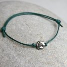 Dragonfly bracelet / Dragonfly Anklet (many colors to choose)