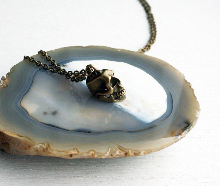 Skull Necklace (on Sale)