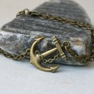 Anchor Bracelet with Double Chain - good for man