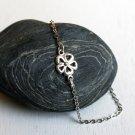 Clover Flower  Anklet / Clover Flower  Bracelet