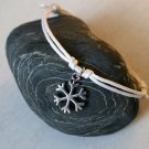 Snowflake Bracelet/ Snowflake Anklet (many color to choose)
