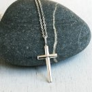 Sterling Silver Cross Necklace (On Sale)