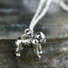 Sterling Silver Gorilla Necklace
